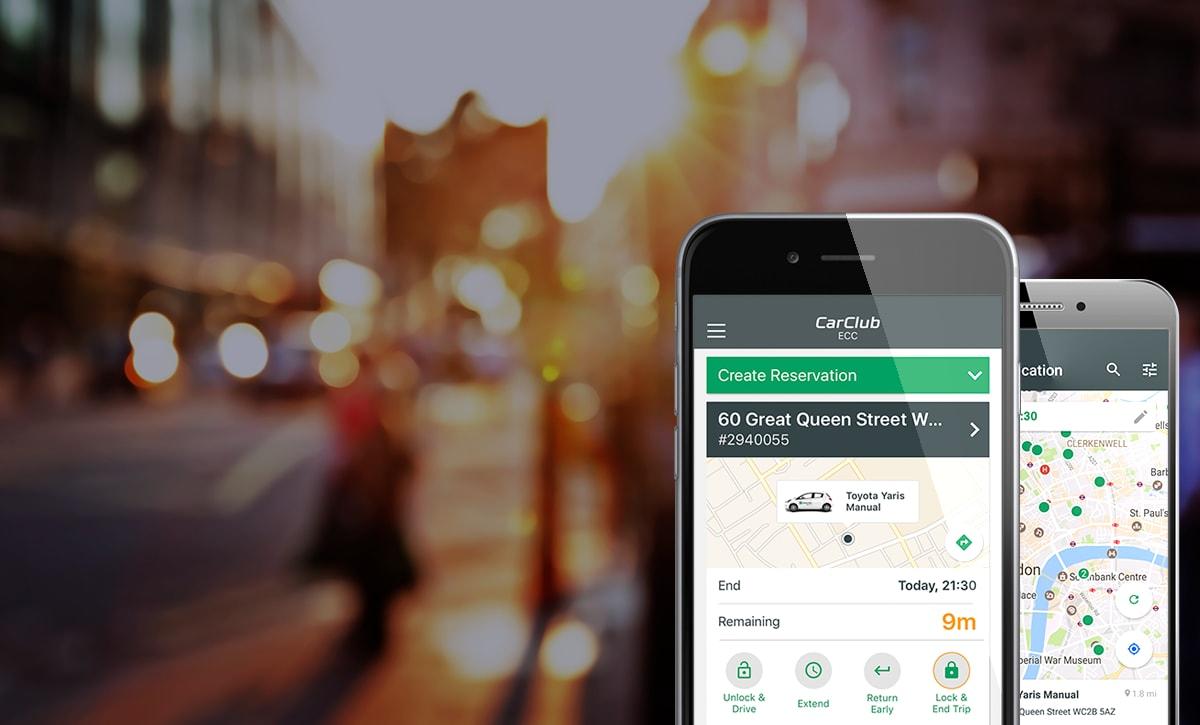 Unlock Car With Phone >> Enterprise Car Club Mobile App