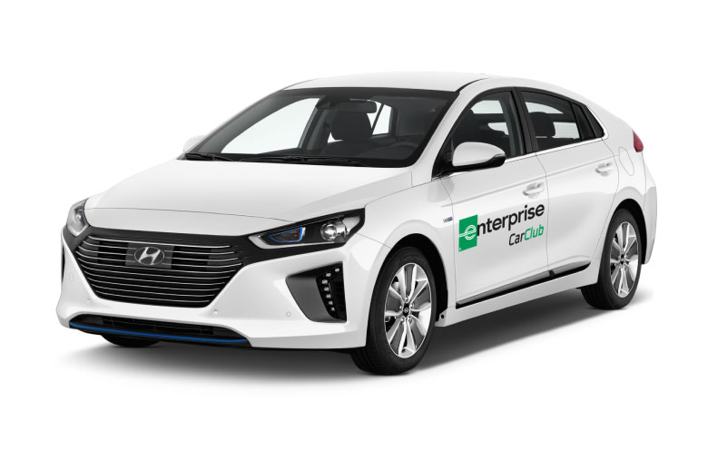 Hyundai Ioniq <br><p><b>A larger vehicle with a dual electric engine, perfect for longer distance journeys</b></p>